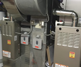 Double Furnaces with Wireless Thermostats and Filter Boxes
