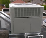 Residential Packaged Rooftop Unit – Side